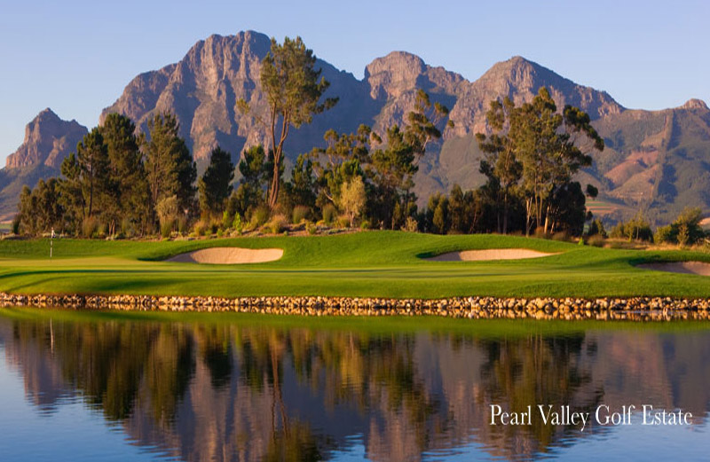 Wonderful Golf at Pearl Valley Golf Estate`s Jack Nicklaus Signature Course and Clubhouse